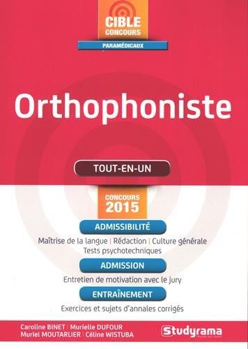 9782759026166: Orthophoniste