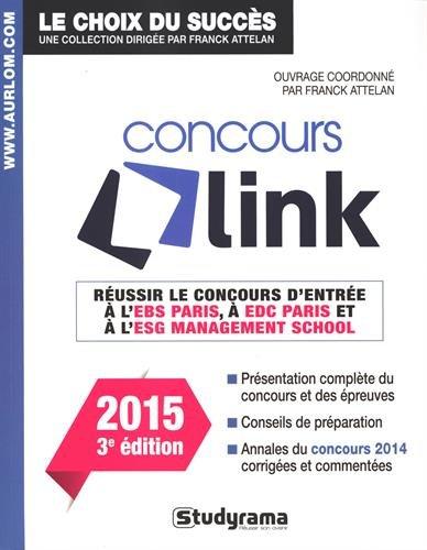 9782759027040: Réussir le concours Link - Edition 2015