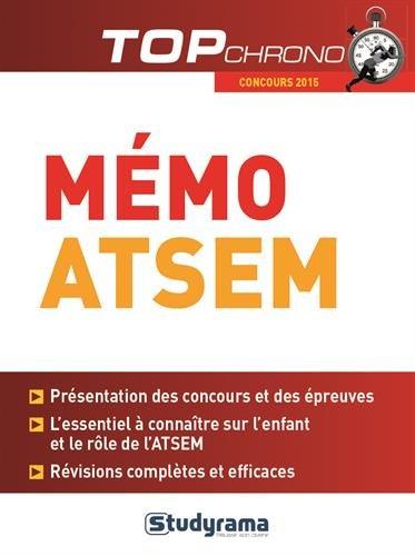 9782759029310: Mémo ATSEM : Concours 2015