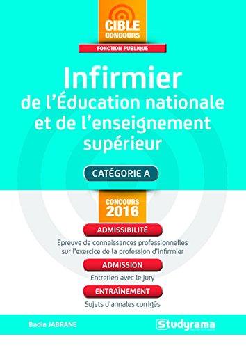9782759029556: infirmière de l'éducation nationale et de l'enseignement supérieur