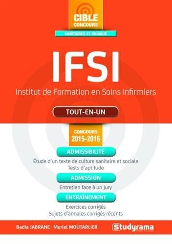 9782759029723: IFSI tout-en-un - Concours 2015-2016