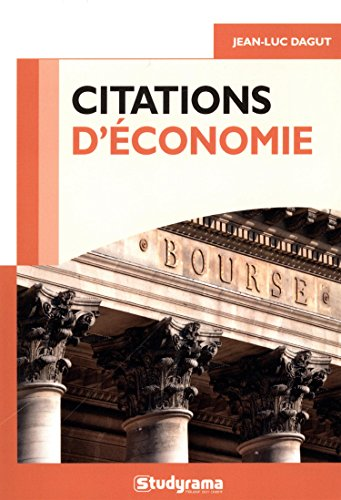 9782759030767: Citations économie