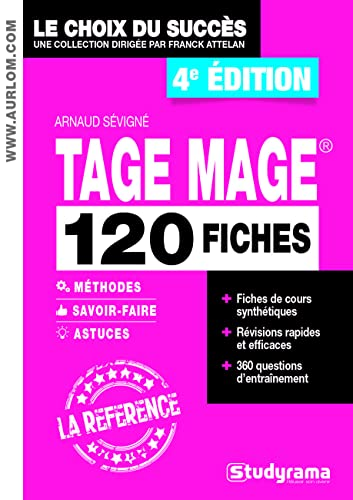 9782759036394: 120 fiches Tage Mage