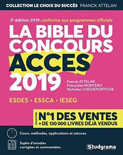 9782759038428: La bible du concours Accès