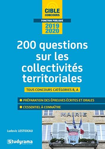 9782759040599: 200 questions sur les collectivités territoriales
