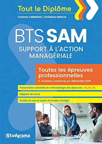 9782759041930: BTS Support à l'action managériale (SAM)