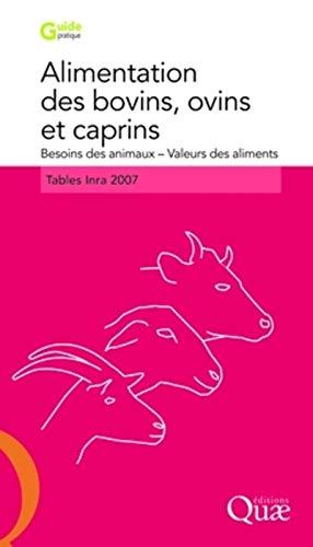 9782759200207: Alimentation des bovins, ovins et caprins (French Edition)
