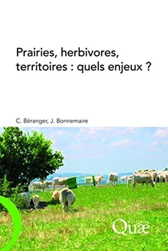 9782759201174: Prairies, herbivores, territoires (French Edition)