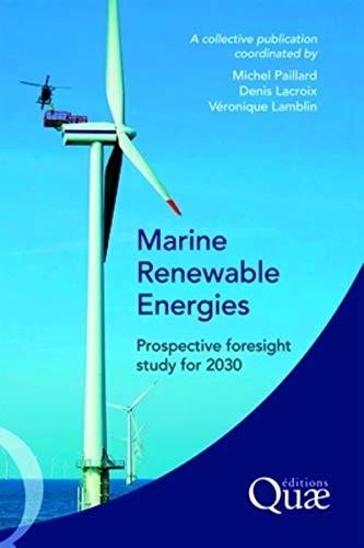 """marine renewable energies ; prospective foresight study for 2030"""