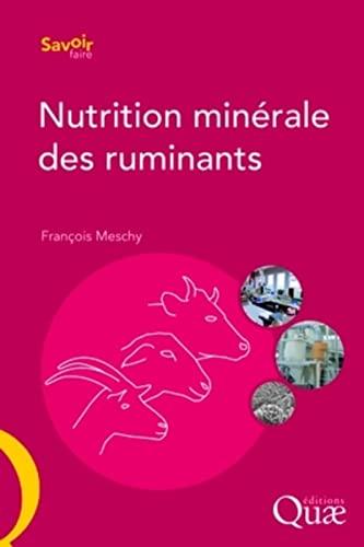 nutrition minérale des ruminants: François Meschy