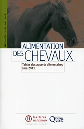 alimentation des chevaux ; tables des apports alimentaires Inra 2011: William Martin-Rosset