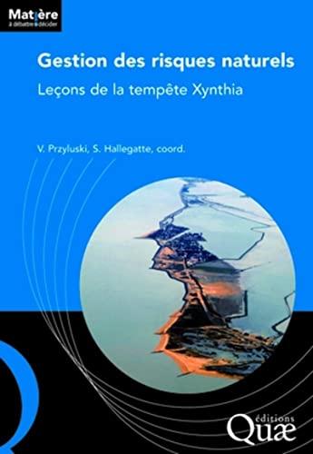 Gestion des risques naturels : Leçons de la tempête Xynthia: Stéphane ...