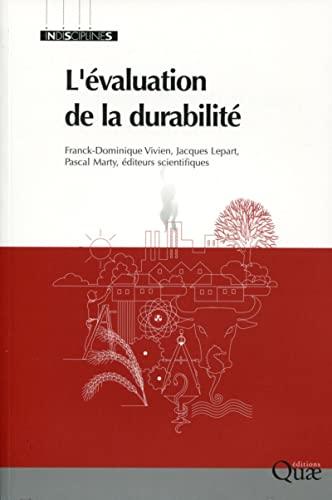 L'évaluation de la durabilité: Franck-Dominique Vivien, Jacques ...