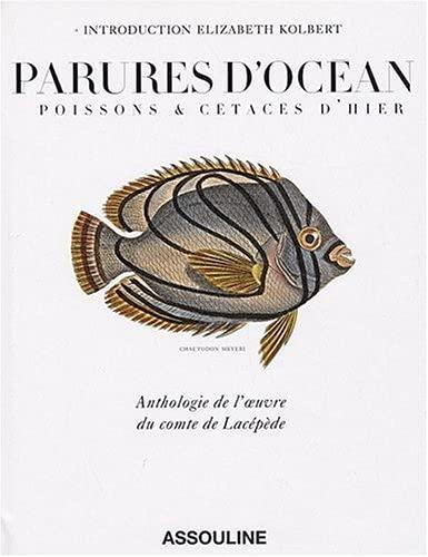 """""""parures d'océan ; poissons & cétacés d'hier ; anthologie ..."""