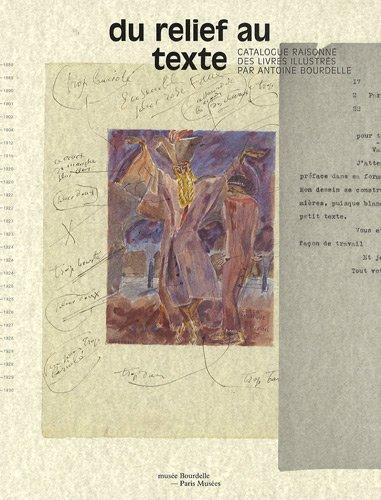 Du relief au texte Catalogue raisonne des livres illustres par: Collectif