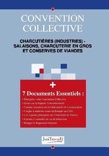 9782759702251: 3125. Charcuti�res (industries) - Salaisons, charcuterie en gros et conserves de viandes Convention collective