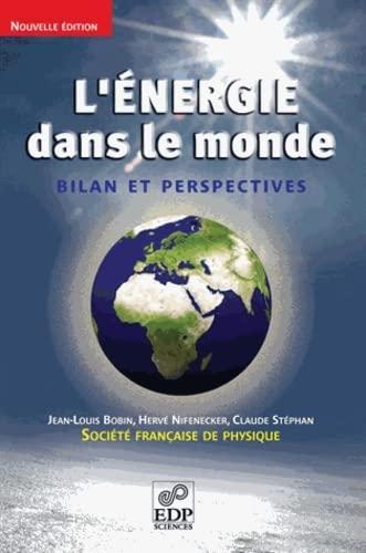 ÉNERGIE DANS LE MONDE N.E. (L') : BILAN ET PERSPECTIVES: BOBIN JEAN-LOUIS