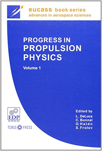 9782759804115: progress in propulsion physics t.1