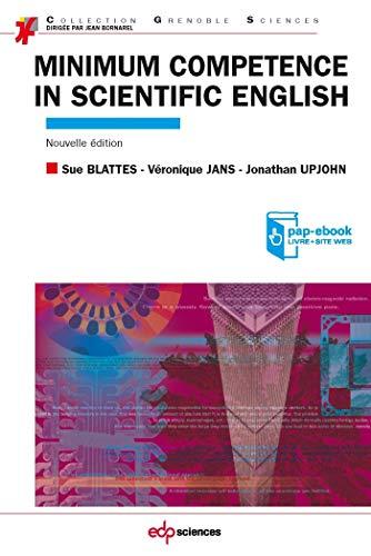 9782759808083: Minimum competence in scientific english