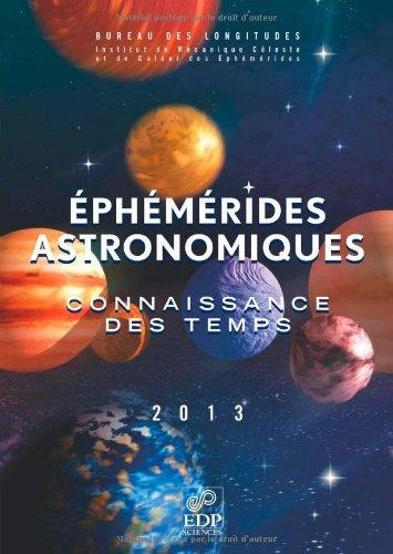 9782759808168: Eph�m�rides astronomiques : Connaissance des temps (1C�d�rom)