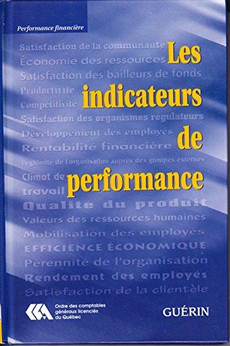 les indicateurs de performance: Estelle M. Morin,