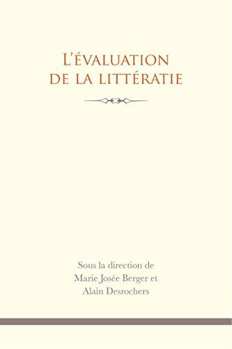 EVALUATION DE LA LITTERATIE -L-: BERGER DESROCHERS