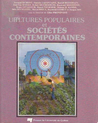 Cultures populaires et societes contemporaines (French Edition): n/a