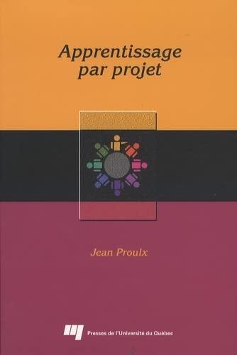 9782760512948: L'apprentissage par projet