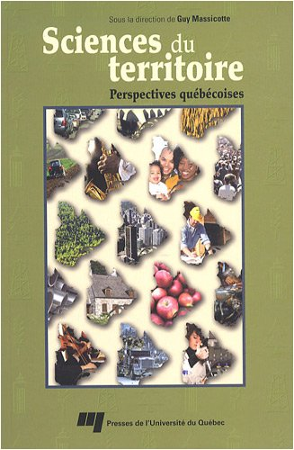 Sciences du territoire (French Edition): Guy Massicotte