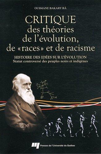 Critique des théories de l'évolution, de : Histoire des idées sur l'...