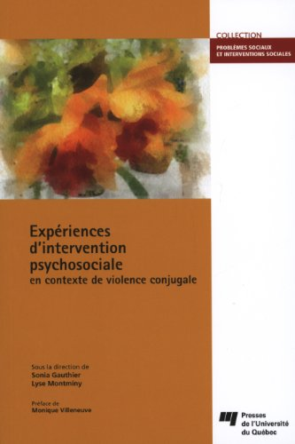 9782760536319: Expériences d'intervention psychosociale en contexte de violence conjugale