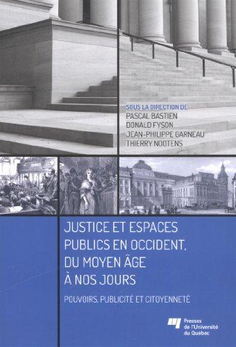 JUSTICE ET ESPACES PUBLICS EN OCCIDENT: COLLECTIF