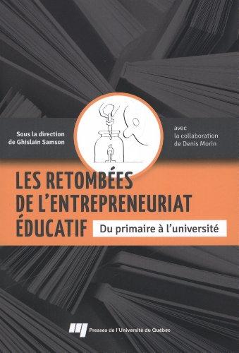 RETOMBEES DE L'ENTREPRENEURIAT EDUCATIF: SAMSON GHISLAIN