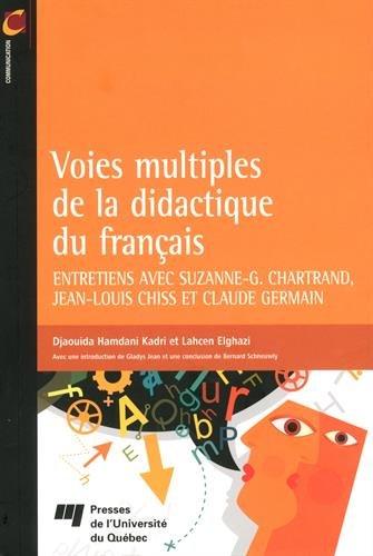 VOIES MULTIPLES DE LA DIDACTIQUE DU FRANCAIS: HAMDANI/ELGHAZI