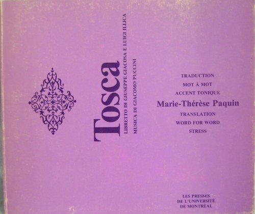 9782760605077: Tosca