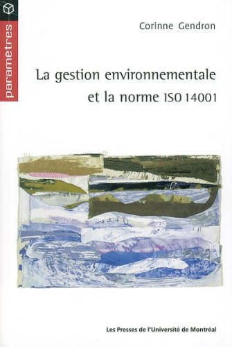 9782760618091: Gestion environnementale et iso 14001