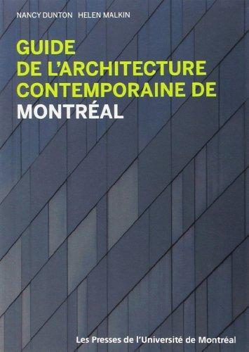 9782760620759: Guide de L'Architecture Contemporaine de Montreal (French Edition)