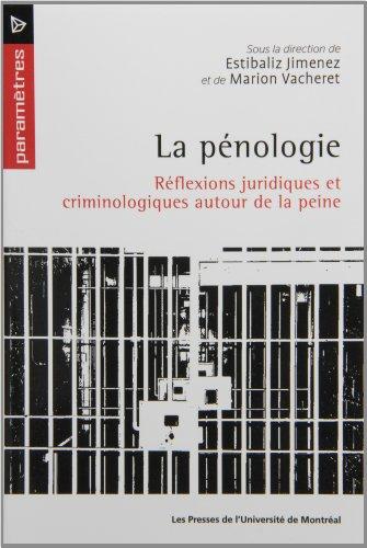 PENOLOGIE -LA-: JIMENEZ VACHERET