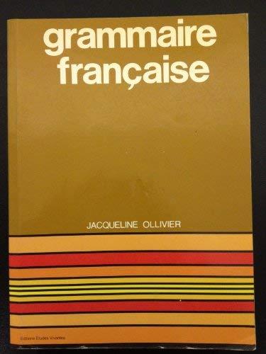 9782760700000: Grammaire Francaise