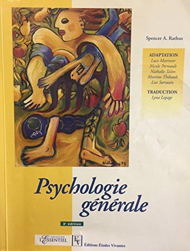 9782760705944: Psychologie Générale 3ème édition