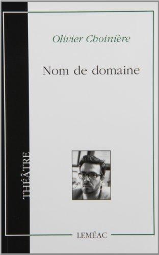 NOM DE DOMAINE: CHOINI�RE OLIVIER