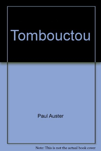 9782760921689: Tombouctou