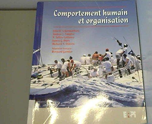 comportement humain et organisation: Collectif