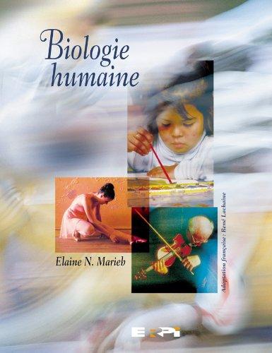 9782761311090: Biologie humaine