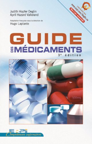 9782761322942: Guide des Médicaments 3ed (French Edition)