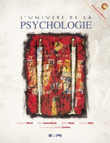 l'univers de la psychologie: Wood