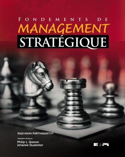 Fondements management strate. parthasarthy: Grenon l. Philip