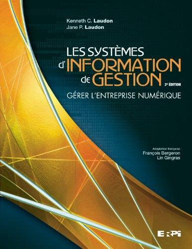9782761327107: systemes d'information de gestion (adapt.francaise 11e) 3e edition