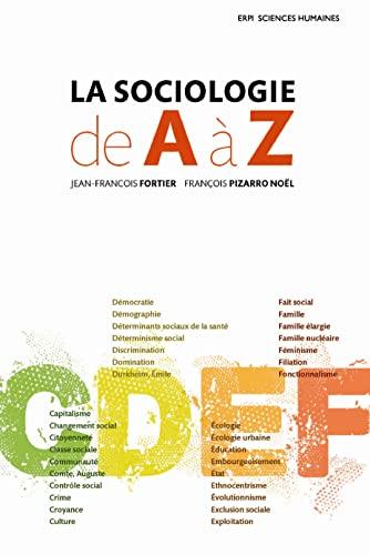9782761340090: La Sociologie de A � Z