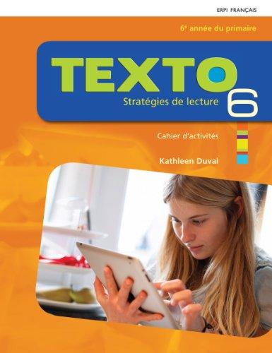 9782761345583: Texto : Strategies de Lecture V 06 Cahier d'Activites